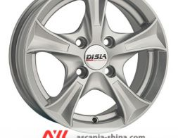 Disla Luxury 406 6.0xR14 5х100 ET37 DIA57.1 (Silver)