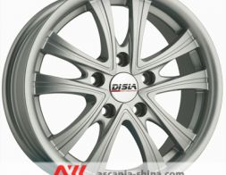 Disla Evolution 608 7.0xR16 5х112 ET38 DIA66.6 (Silver)