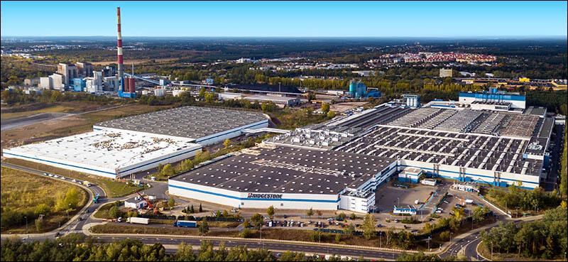 Завод Bridgestone в Польше – город Познань