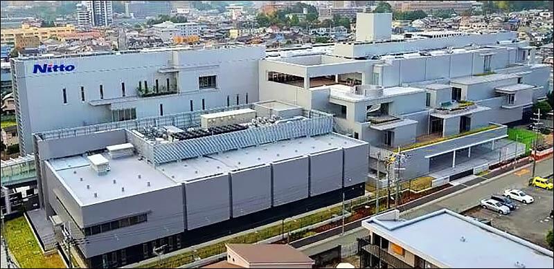 Завод Nitto в Японии в городе Ибараки префектура Осака