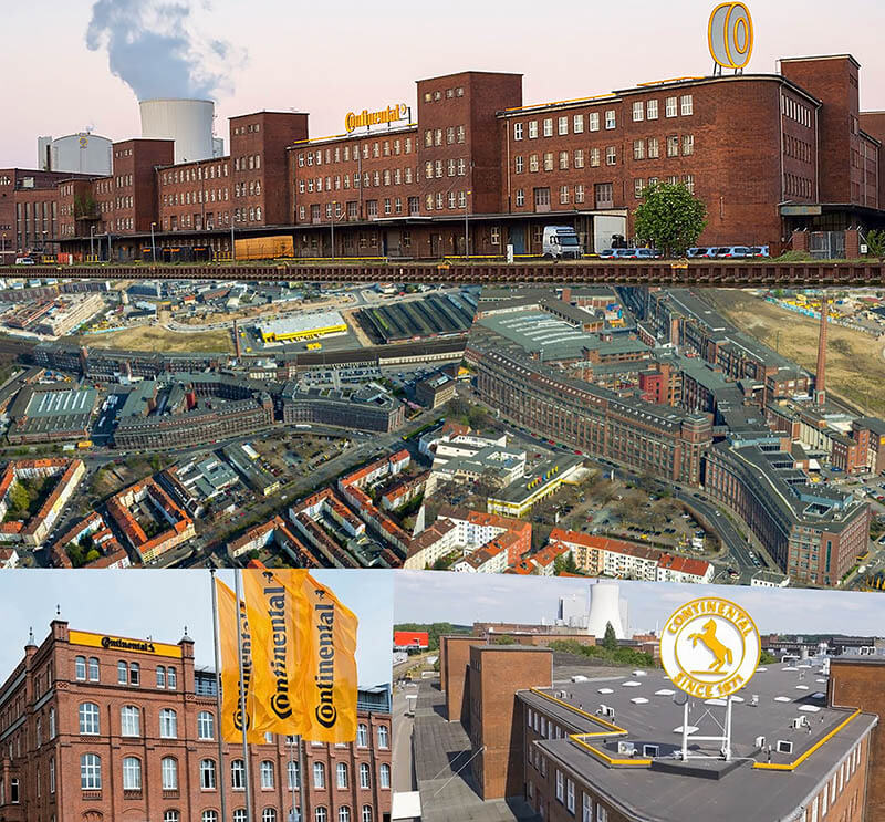 Штаб-квартира и завод Continental в Германии фото