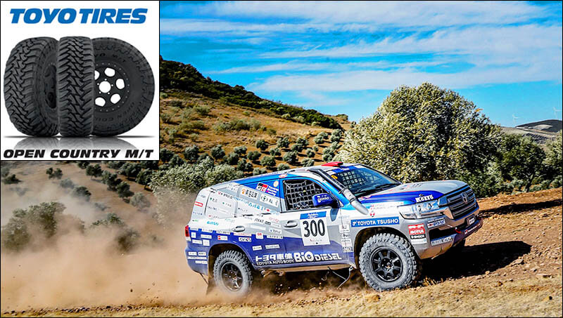 Toyo Open Country MT-R на Land Cruiser 300 в ралли Дакар