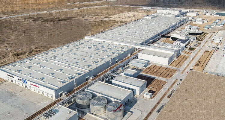 SMART завод Lassa в Аксарае (Турция)